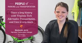 Blacksburg's Bike/Bus Boss: Mackenzie Jarvis